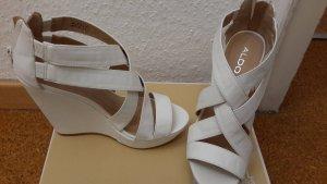 weiße Sandalen von ALDO