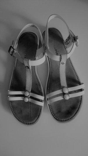 Weiße Sandalen von Tamaris