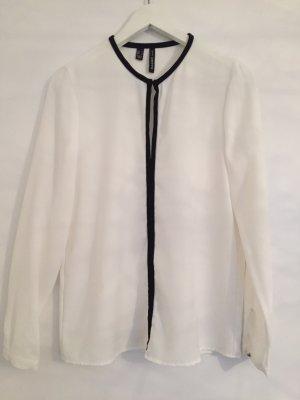 Weiße schicke Bluse, Mango