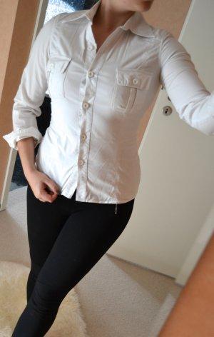 Weiße schicke Bluse von Zara