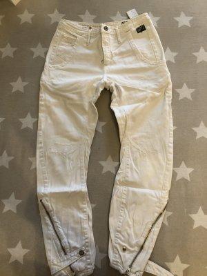 Weiße schöne Jeans