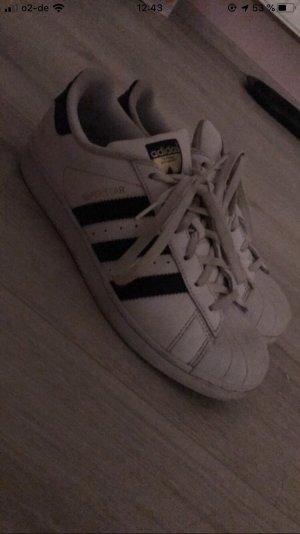 Adidas Lace Shoes white-black