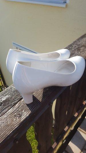Weiße Schuhe/ Pumps/ Brautschuhe