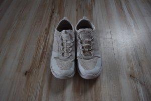 Deichmann Slip-on Sneakers white polyester