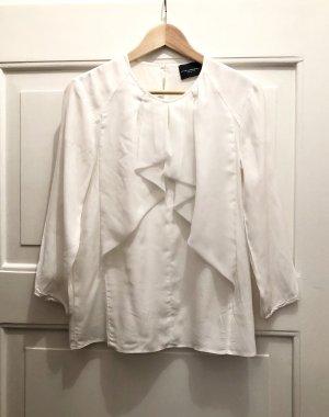 Atos Lombardini Blusa in seta bianco