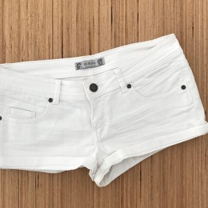 Pimkie Denim Shorts white