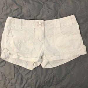 Weiße Shorts / Hot Pants
