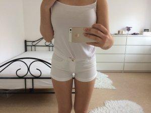 Weiße Shorts / kurze Hose