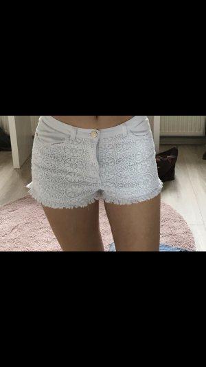 Weiße Shorts von H und M