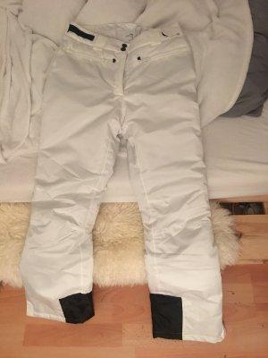 Pantalone da neve bianco-nero