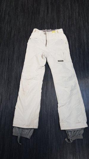 Weiße Skihose Größe M