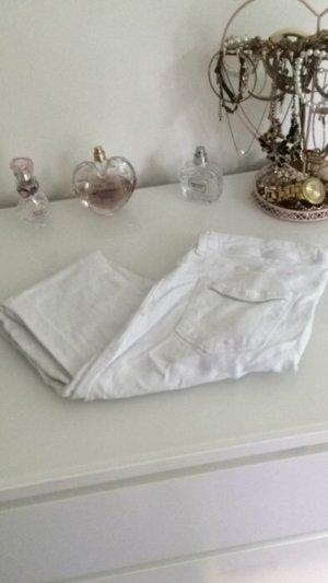 Weiße Skinny Jeans Blickdicht