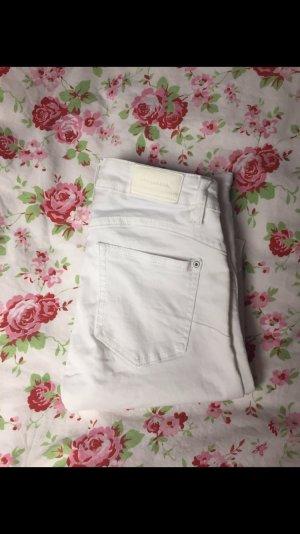 Weiße Skinny Jeans PB