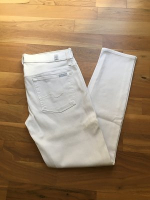 7 For All Mankind Vaquero 7/8 blanco
