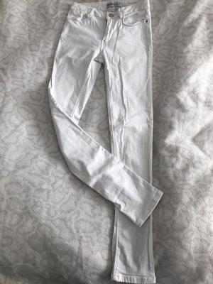 Weiße Skinny-Jeans von Zara