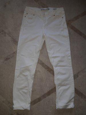 weisse Slim Jeans 36