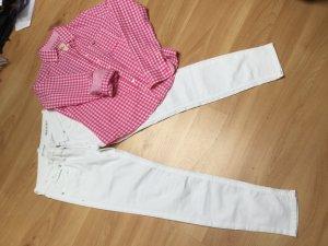 """Weiße  slim Jeans """"Top"""""""