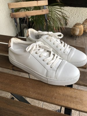 Another A Sneaker stringata bianco-color oro rosa