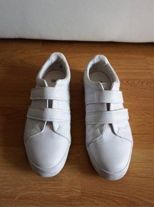 Asos Basket velcro blanc faux cuir
