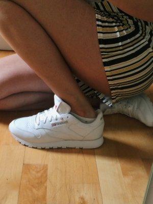 Weiße Sneaker Reebok Classic Damen Leder Neu