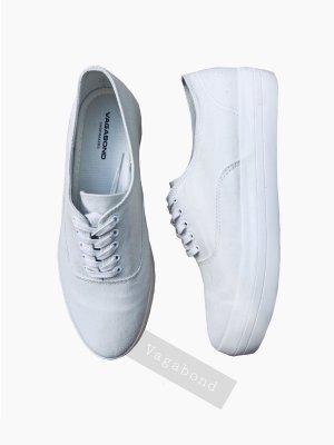 Weiße sneaker Schuhe Plateau Sport lässig elegant white flach | vagabond | 39