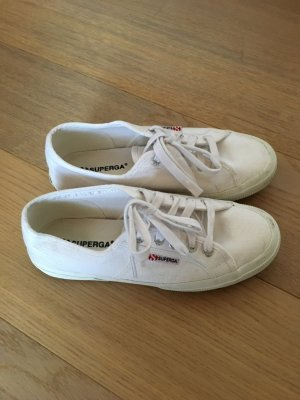 Superga Lace-Up Sneaker white