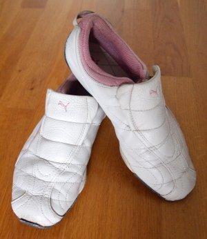 Weiße Sneaker / Slip-Ons von Puma