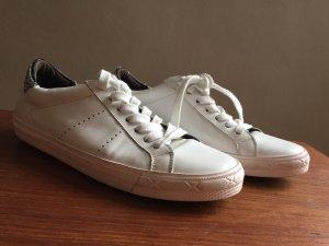 Weiße Sneaker von Kennel & Schmenger mit Glitzer