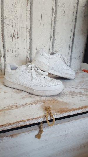 weiße sneaker von primark