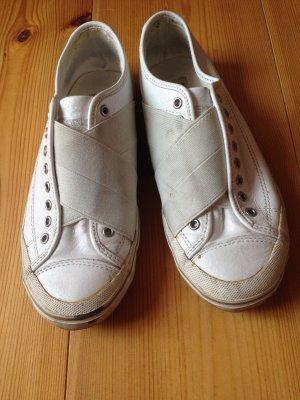 Weiße Sneaker von Tretorn Gullwing aus Leder Gr. 36