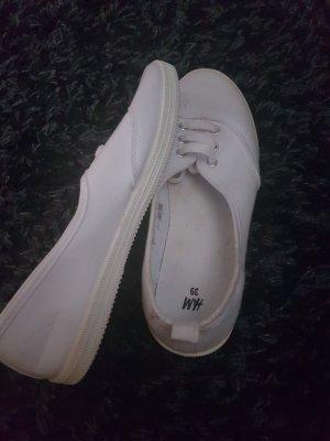 weisse Sneakers von h&m, Gr. 39