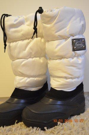 weiße Snowboots (Scholl Snowflakes) (Größe in der Beschreibung)