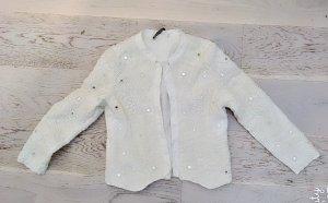 Zara Blouse Jacket white