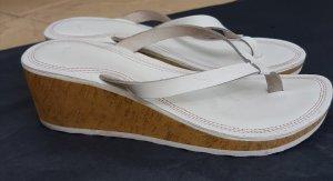 weisse Sommer Flip Flops