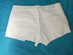 weiße Sommer Hot Pants