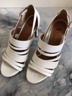 H&M High Heel Sandal white