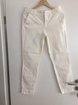 Weiße Sommerhose Chino