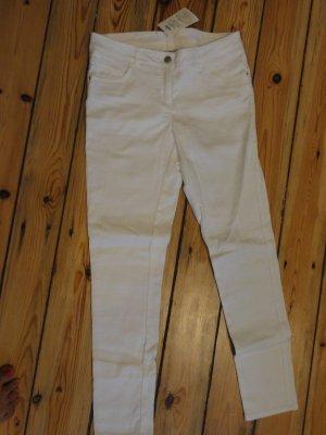 °°°Weiße Sommerhose, Jeans- Stretch-Hose, NEU!°°°