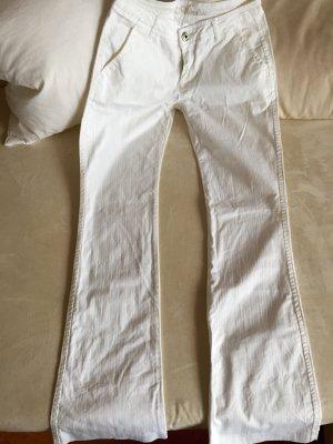 Amisu Pantalone jersey bianco