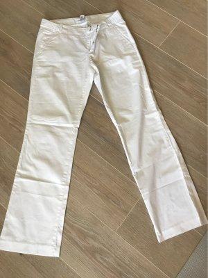 Calvin Klein Pantalone Capri bianco