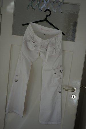 Weiße Sommerhose von Freeman T. Porter - Größe 27