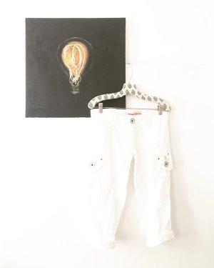 weisse sommerhose / whitedinnerlook / vintage / miss sixty