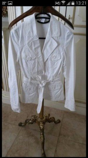 Weiße Sommerjacke H&M wie neu!