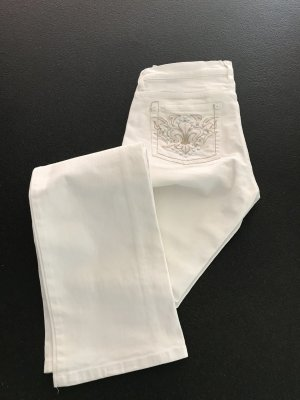 Jette Joop Stretch Trousers white cotton