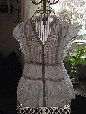 Weiße sommerliche Bluse - Größe 36