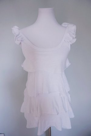 * Weiße sommerliche Bluse von Flame