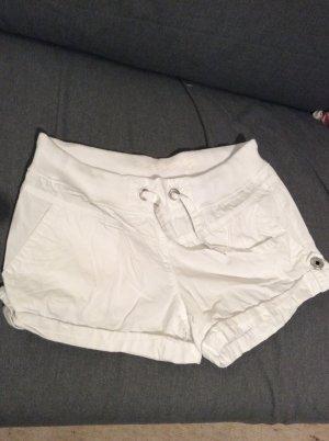 Weiße Sommershorts, Größe 34