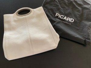 Picard Frame Bag white leather