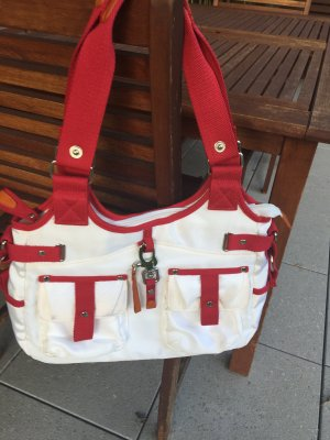 Carry Bag white-red