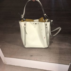 Zara Handbag white leather